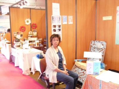 Reflexologie plantaire lors du salon bio artemisia en 2009 for Salon bien etre marseille